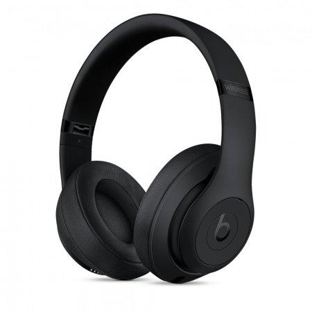 Слушалки с микрофон Beats STUDIO3 WIRELESS OVER-EAR MATTE BLACK MQ562