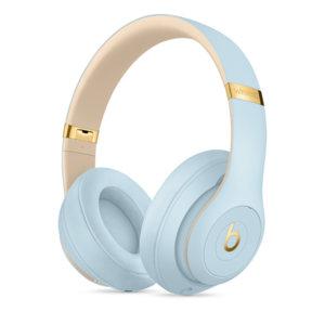 Слушалки с микрофон Beats STUDIO3 WIRELESS OVER-EAR CRYSTAL BLUE MTU02