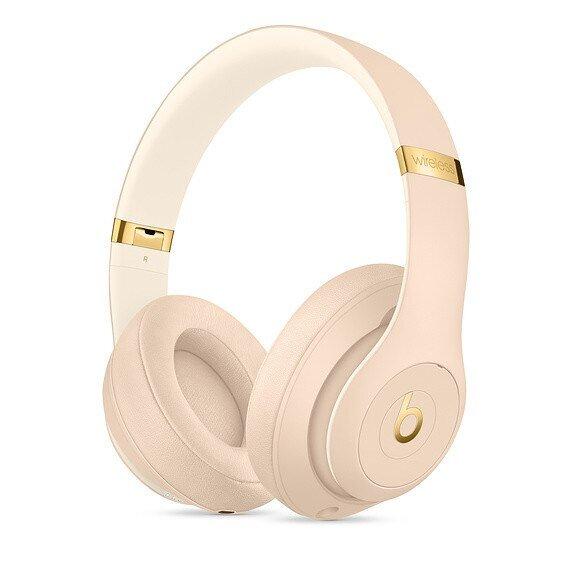 Слушалки с микрофон Beats STUDIO3 WIRELESS OVER-EAR DESERT SAND MTQX2