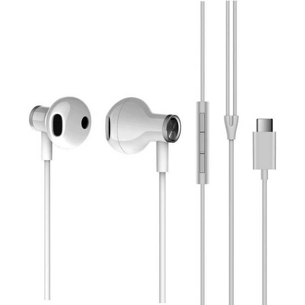 Слушалки с микрофон Xiaomi Mi Dual Driver Type-C White ZBW4434TY