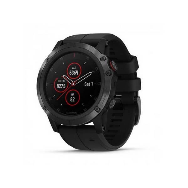 Смарт часовник Garmin FENIX 5X Plus Sapphire Black 010-01989-01 , 1.20