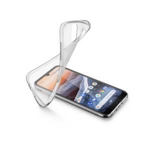 Калъф за смартфон Cellularline SOFT NOKIA 3.2 ПРОЗРАЧЕН