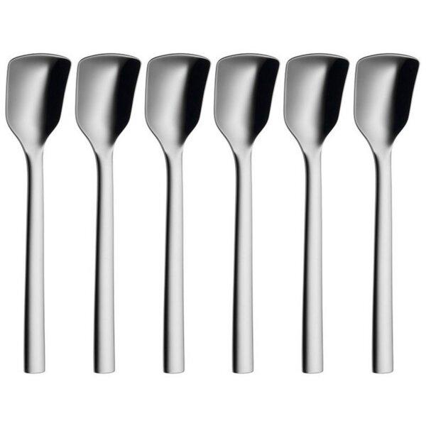 Кухненски прибор WMF 1291566040 Лъжици за сладолед NUOVA от 6 части