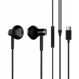 Слушалки с микрофон Xiaomi Mi Dual Driver Type-C Black ZBW4435TY