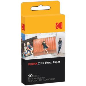 Аксесоар фото Kodak Хартия ZINK 2x3 - 20 pack RODZ2X320