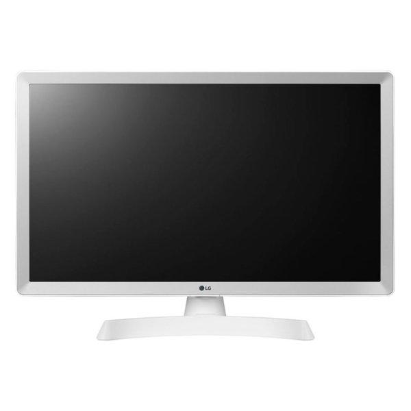 Монитор с ТВ тунер LG 24TL510V-WZ , 1366x768 HD Ready , 24 inch, 60 см, LED LCD , Не