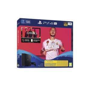 Конзола Sony PS4 1TB PRO + FIFA 2020 + PS+