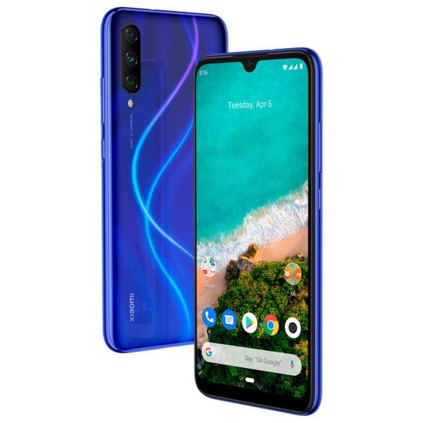 Мобилен телефон Xiaomi MI A3 DS BLUE 64/4 MZB7939EU