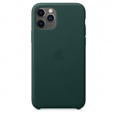 Калъф за смартфон Apple IPHONE 11 PRO LEATHER CASE - GREEN MWYC2