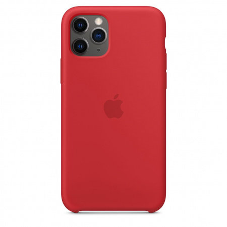 Калъф Apple IPHONE 11 PRO SILICONE CASE (PRODUCT)RED MWYH2
