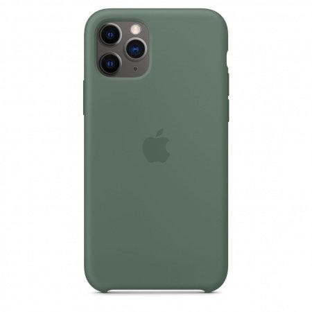 Калъф за смартфон Apple IPHONE 11 PRO SILICONE CASE PINE GREEN MWYP2