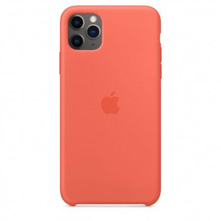Калъф за смартфон Apple IPHONE 11 PRO MAX SILICONE CASE ORANGE MX022
