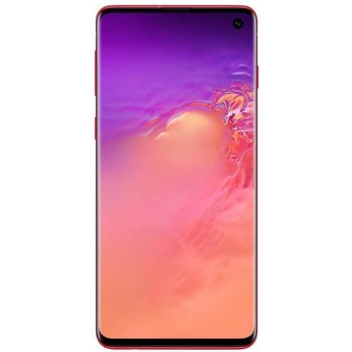 Мобилен телефон Samsung SM-G973FZRD GALAXY S10 DS RED 128GB , 128 GB, 8 GB