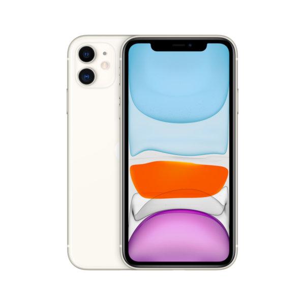 Мобилен телефон Apple IPHONE 11 64GB WHITE MWLU2