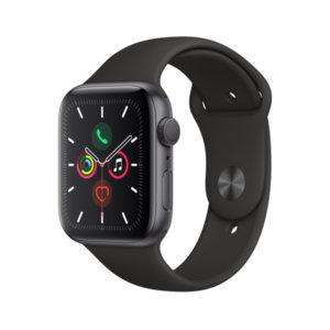 Смарт часовник Apple Watch 5 44mm Space Gray/Black Sport Band mwvf2 , 1.78 , 32 , S5 64-bit Dual Core