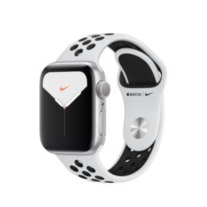 Смарт часовник Apple Watch Nike 5 40mm S Plat/Black Nike Band mx3r2