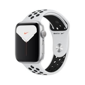 Смарт часовник Apple Watch Nike 5 44mm S Plat/Black Nike Band mx3v2 , 1.78 , 32 , S5 64-bit Dual Core