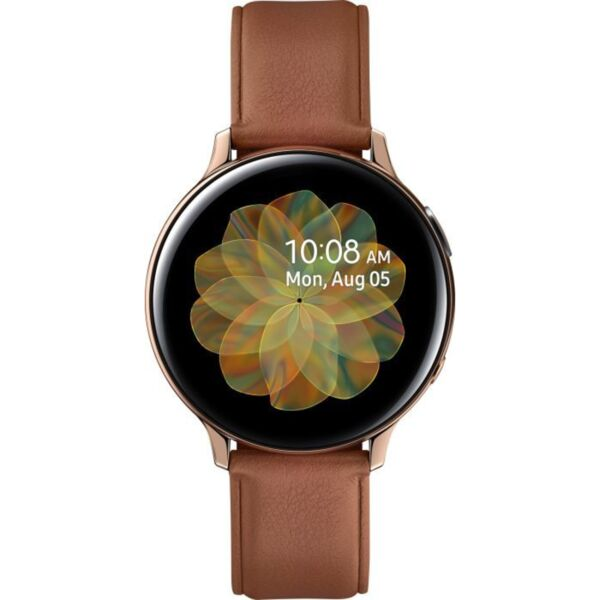 Смарт часовник Samsung GALAXY WATCH ACTIVE 2 GOLD STEEL R820NSD 44 MM , 1.40 , 4 , 768MB , DUAL CORE 1.15GHz