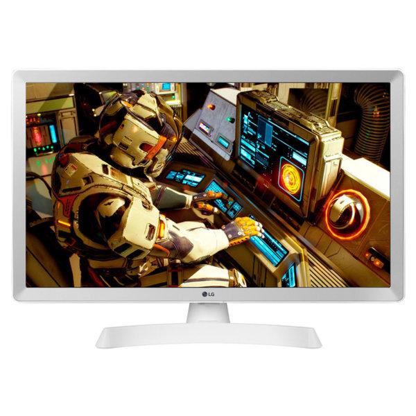 Монитор с ТВ тунер LG 24TL510S-WZ , 1366x768 HD Ready , 24 inch, 60 см, LED LCD