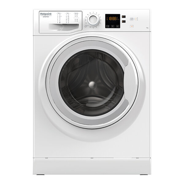 Пералня Hotpoint-Ariston NS 703U W EU*** , 1000 об./мин., 7.00 kg, A+++ , Бял
