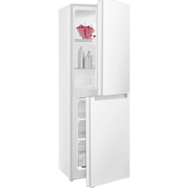 Хладилник с фризер Crown CBR-140W , 142 l, F , Бял , Статична