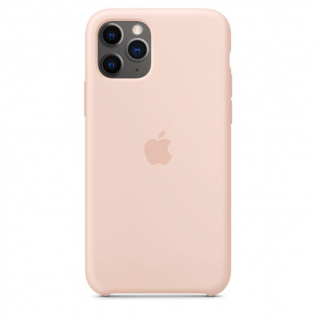 Калъф за смартфон Apple IPHONE 11 PRO SILICONE CASE PINK SAND MWYM2