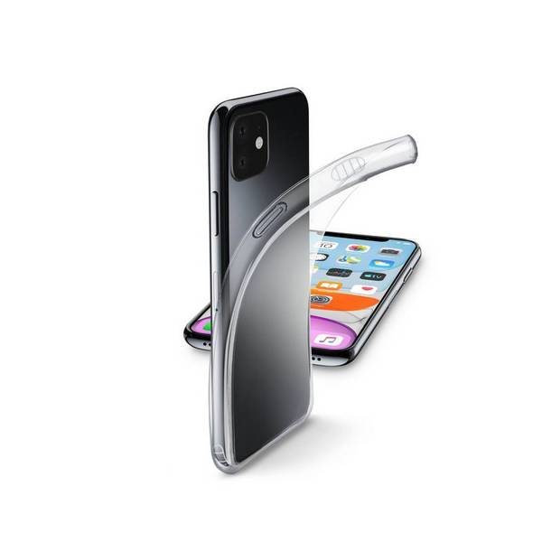 Калъф Cellularline FINE iPhone 11 ПРОЗРАЧЕН