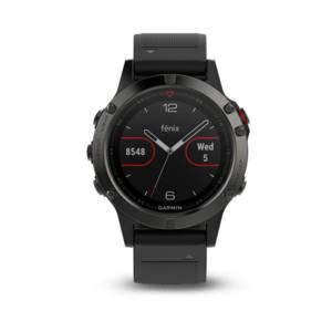 Смарт часовник Garmin FENIX 5 Sapphire Black 010-01688-11