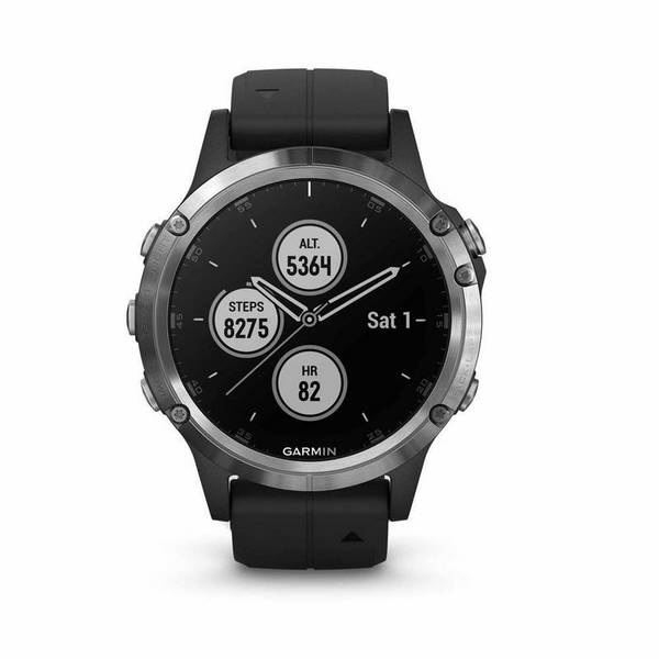 Смарт часовник Garmin FENIX 5 Plus Silver 010-01988-11 , 1.20