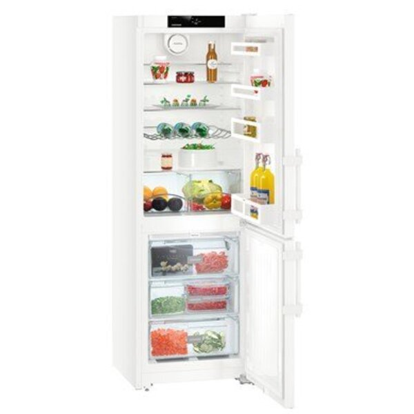 Хладилник с фризер Liebherr CN 3515 , 317 l, E , No Frost , Бял