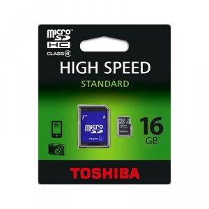 Карта памет Toshiba MICRO SD 16GB CLASS 4