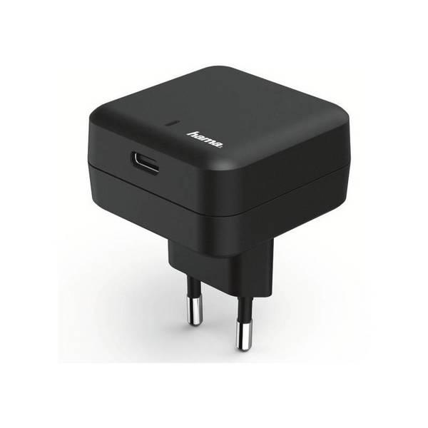 Зарядно устройство Hama 178312 100-240V/QC 3.0A USB-C