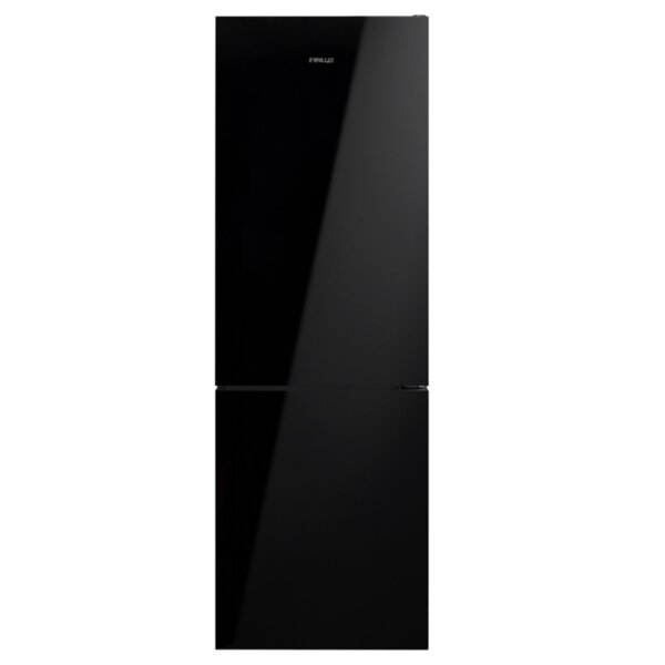 Хладилник с фризер Finlux FXCA 3730B , 324 l, A+ , No Frost , Черен