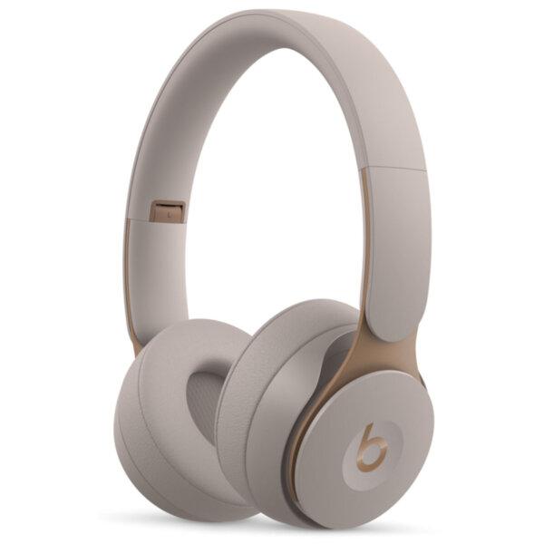 Слушалки с микрофон Beats SOLO PRO ON-EAR - GREY MRJ82