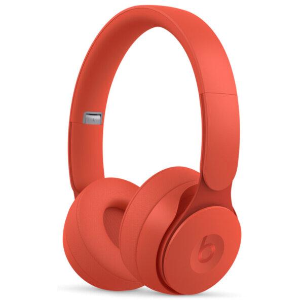 Слушалки с микрофон Beats SOLO PRO ON-EAR - RED MRJC2