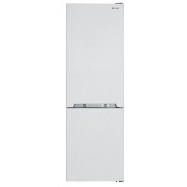 Хладилник с фризер Sharp SJ-BA10IMXW1 , 324 l, A+ , No Frost , Бял