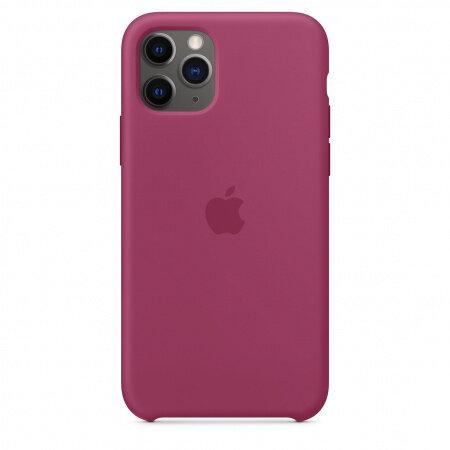 Калъф за смартфон Apple IPHONE 11 PRO SILICONE CASE POMEGRANATE MXM62