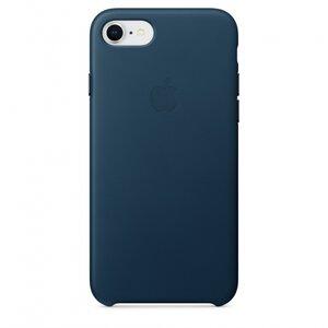 Калъф за смартфон Apple IPHONE 8/7 LEATHER CASE - COSMOS BLUE MQHF2