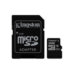 Карта памет Kingston MICRO SD 16GB CLASS 10 A1 CANVAS SELECT+