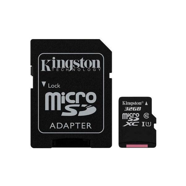 Карта памет Kingston MICRO SD 32GB CLASS 10 A1 CANVAS SELECT+
