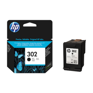 Тонер HP 302 BLACK INK CARTRIDGE F6U66AE