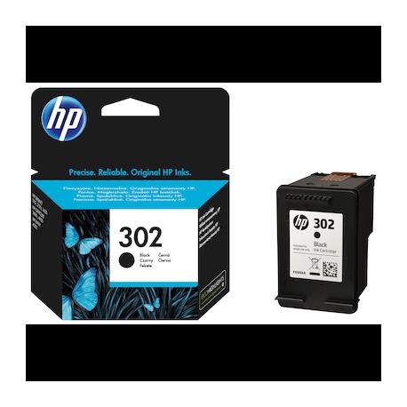 Тонер HP 302 BLACK INK CARTRIDGE F6U66AE