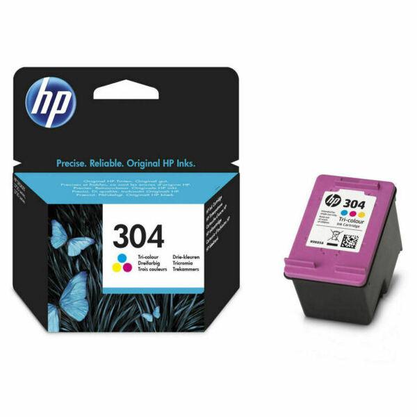 Тонер HP 304 TRI-COLOR INK CARTRIDGE N9K05AE