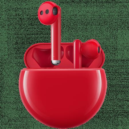 Слушалки с микрофон Huawei FREEBUDS 3 RED