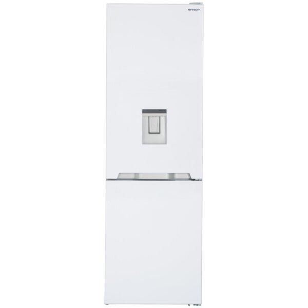 Хладилник с фризер Sharp SJ-BA10IMDW2 , 324 l, A++ , No Frost , Бял
