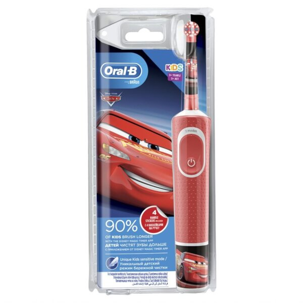 Електрическа четка за зъби Oral B CARS 3+ D100