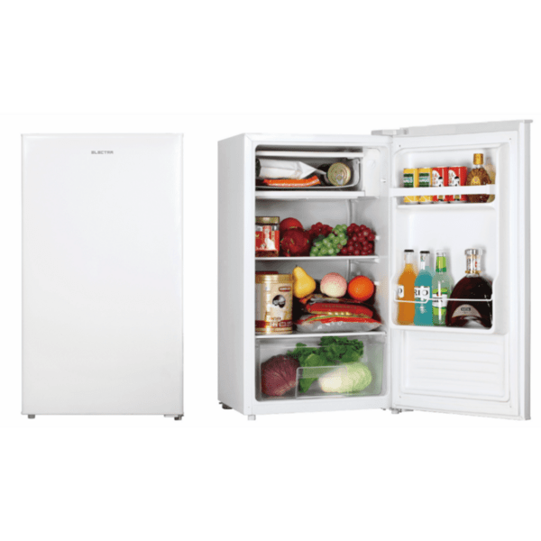 Хладилник Electra EDF-90/ED , 84 l, F , Бял , Статична