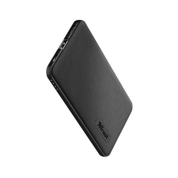 Външна батерия Trust PRIMO THIN 5000 mAh BLACK
