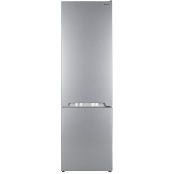 Хладилник с фризер Sharp SJ-BB05DTXL1*** , 286 l, A+ , Инокс , Статична