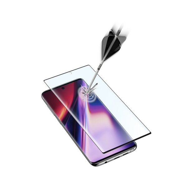Протектор за дисплей Cellularline SAMSUNG GALAXY Note 10+ ЗАКАЛЕНО СТЪКЛО